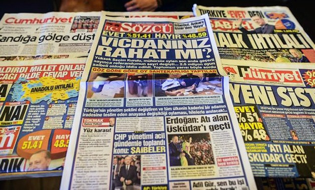 Warrants issued for four at opposition daily in latest Turkish media crackdown - AFP