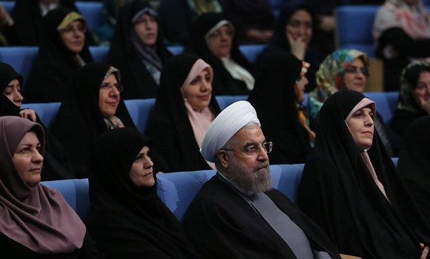 Rouhani surrounded by women official Facebook Page