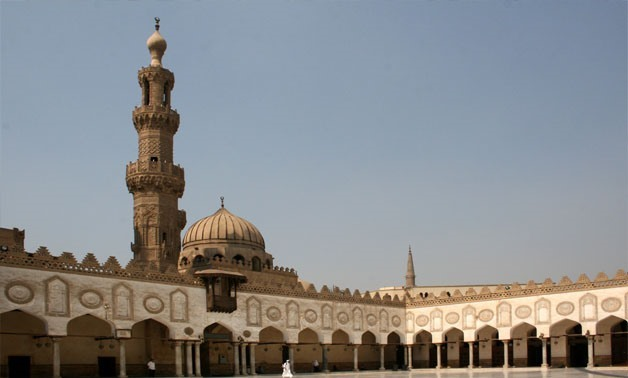 Al-Azhar Mosque Wikipedia commons