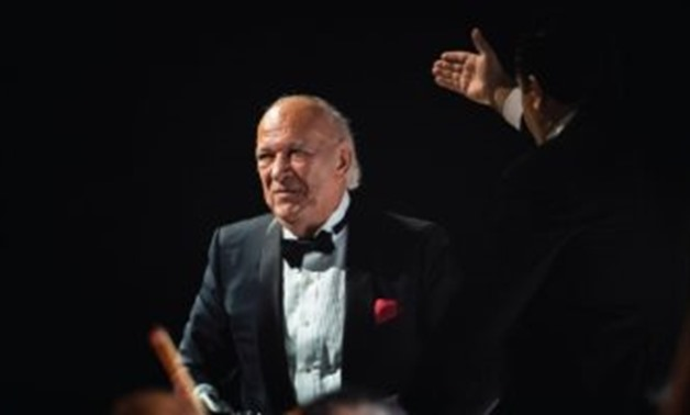 The unforgettable concert performed by legendary Egyptian musician Omar Khairat on Friday, January 11 - Egypt Today.