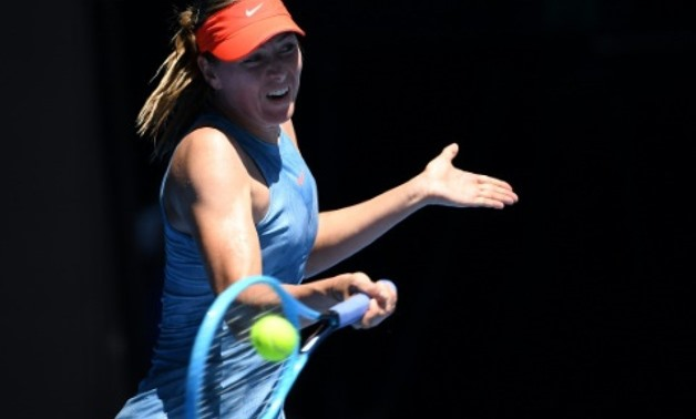 Maria Sharapova, who has struggled with injury since returning from a doping ban in 2017, showed glimpses of her old ruthless self to dispatch Harriet Dart in just 63 minutes AFP