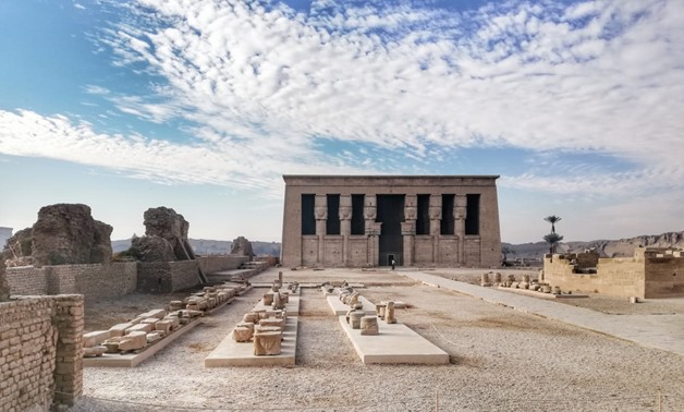 FILE - Dendera Temple