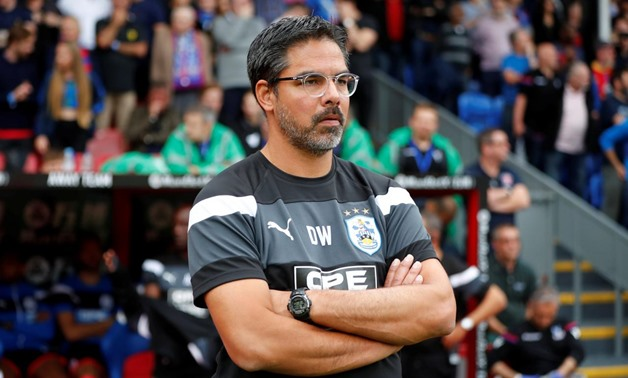 FILE PHOTO: Huddersfield Town manager David Wagner before the match REUTERS/Tolga Akmen