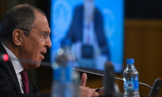 Russia is a long-time supporter of Syrian President Bashar al-Assad and Foreign Minister Sergei Lavrov said the future of the Kurds could be secured under the Damascus regime AFP