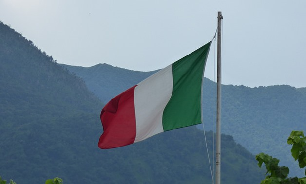 FILE - The Italian flag as seen in Bellagio near Lake Como - Flickr/Elliot Brown