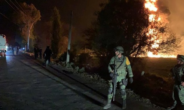Mexican pipeline blast during fuel raid kills at least 21 - Reuters