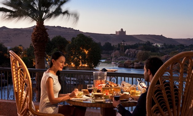 Romantic Dinner in Aswan by King's Fouad Corner at Sofitel Legend Old Cataract
