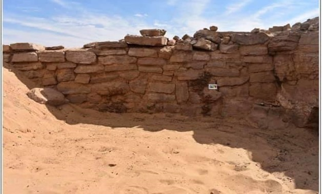 FILE -  Six tombs dating back to the Old Kingdom uncovered in Aswan