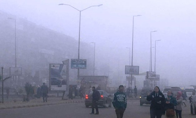 In pics: Heavy fog hits Egypt, ports
