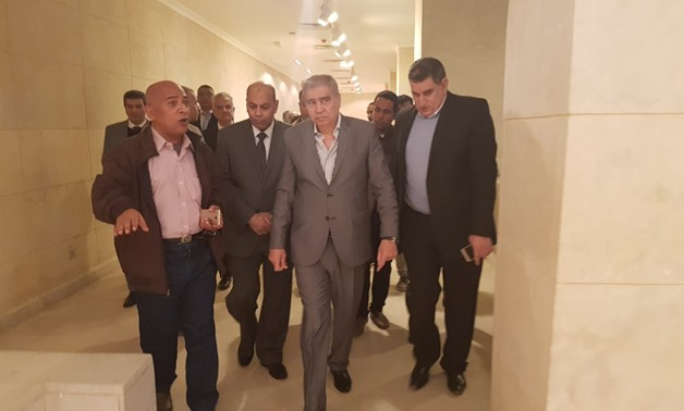 Antiquities Minister Khaled Anani and Tourism Minister Rania el Mashat inspected on Friday the archaeological site of Tell el-Amarna- Egypt Today/Hassan Abdelghafar