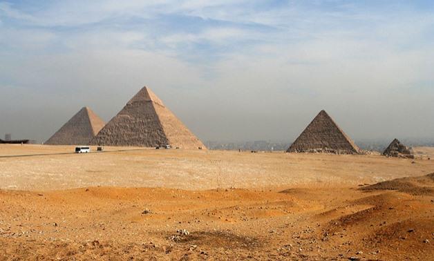 FILE - Giza Pyramids - Flickr/Tommy Wong