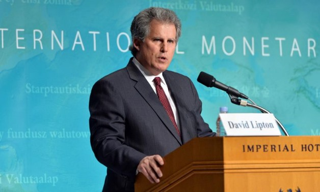 The International Monetary Fund's Acting Managing Director David Lipton - Reuters