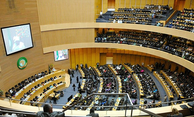 FILE - An overview of the 50th anniversary African Union Summit in Addis Ababa, Ethiopia, as seen on May 25, 2013 - Wikimedia Commons/US Department of State