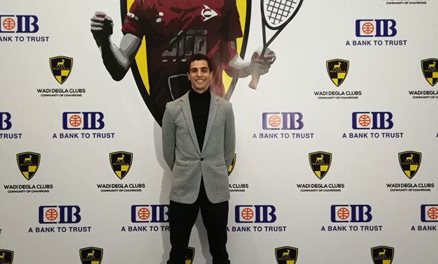 Wadi Degla SC Ali Farag ranked world number one player in March PSA World Rankings - press photo
