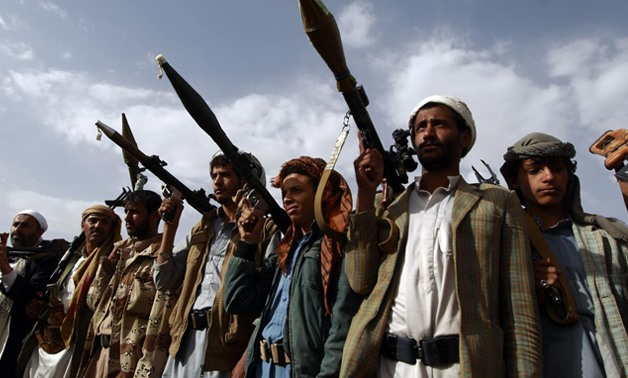 Rebel Shiite Houthi fighters in Yemen (AFP/file photo)