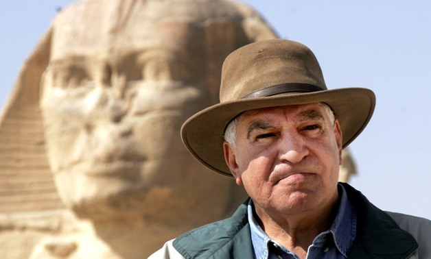 FILE - Zahi Hawass