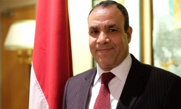 FILE- Egyptian Ambassador in Berlin Badr Abdel Aati- press photo