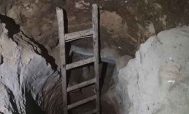 FILE: A man was arrested over illegally digging under his house in Giza in search for artifacts, as part of Tourism police's crackdown against illicit trade in antiquities
