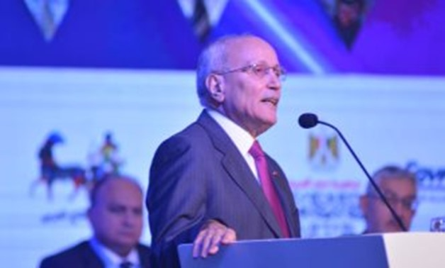 FILE - Minister of State for Military Production Mohamed al-Assar