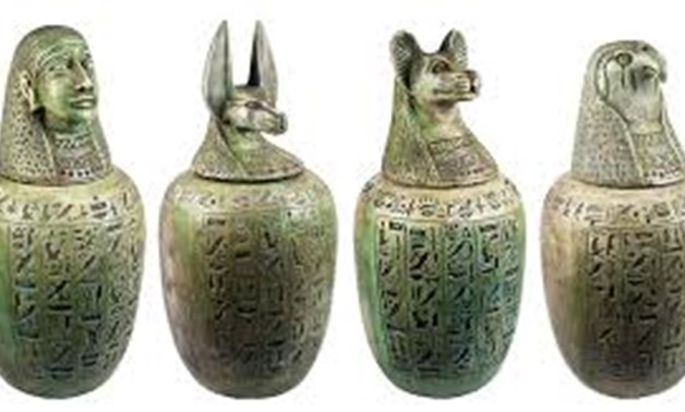 FILE - Egyptian Artifacts