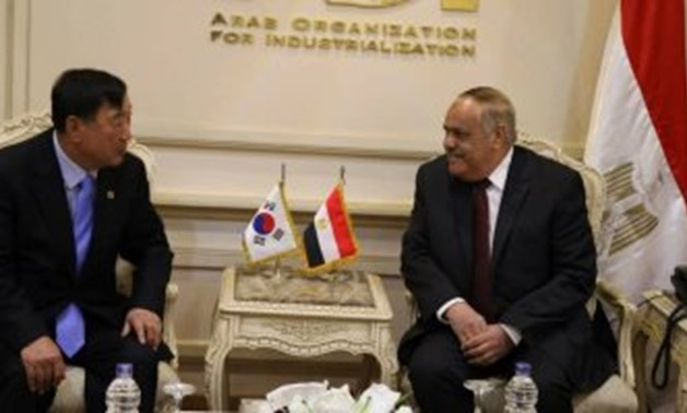 KEDA president (L) meets with AOI chairman (R) in Cairo - Press photo