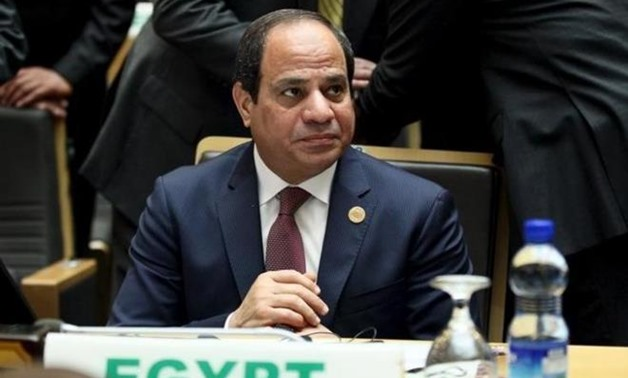 President Abdel Fatah al-Sisi - Press Photo