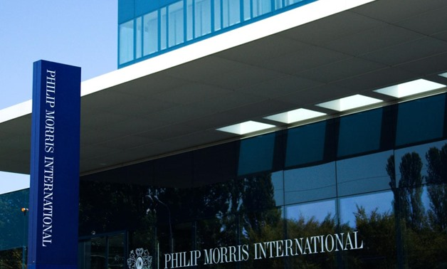 FILE PHOTO: Philip Morris International's operational headquarters are pictured in Lausanne August 19, 2009. REUTERS/Denis Balibouse/File Photo
