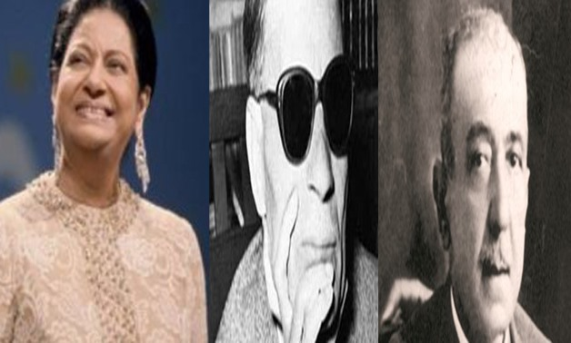 Umm Kulthum, Taha Hussein,  Ahmed Shawky, - File Photo