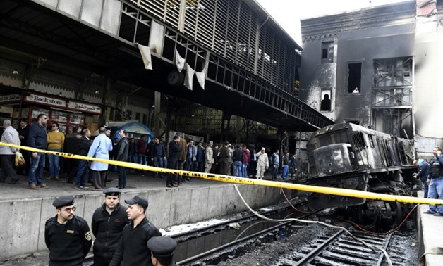 PRESS: Prime Minister Moustafa Madbouli offered his condolences for victims of the train station fire and wished recovery for the injured