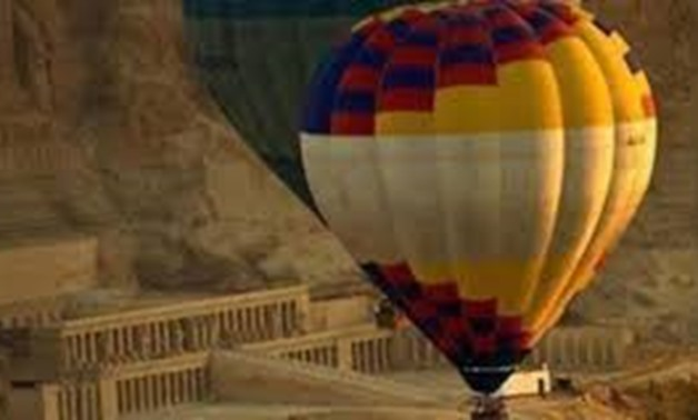 FILE - Hot Air Ballon in Luxor