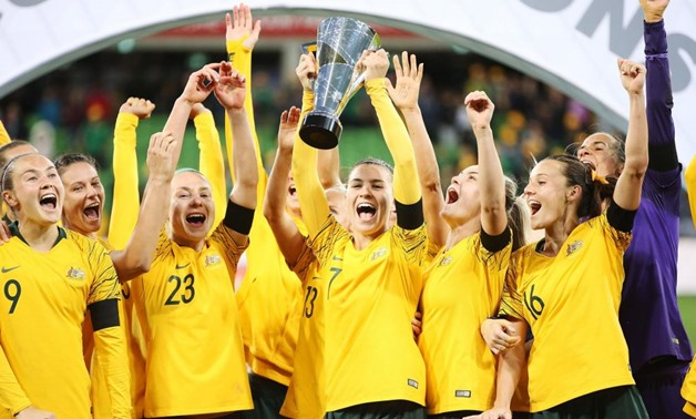 Australia women team - FILE