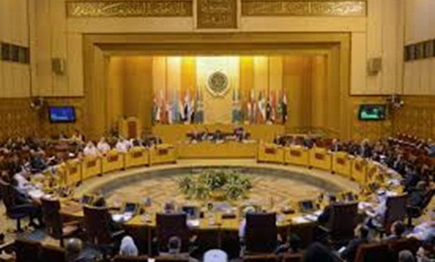 A general view of the Arab League delegates meeting to discuss possible move of the U.S. embassy to Jerusalem, in Cairo, Egypt December 5, 2017. REUTERS/Mohamed Abd El Ghany