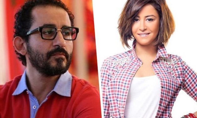 FILE - Ahmed Helmy, Menna Shalaby