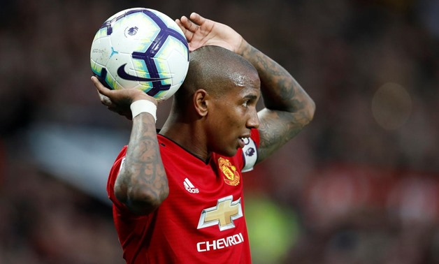 Old Trafford, Manchester, Britain - March 2, 2019 Manchester United's Ashley Young Action Images via Reuters/Carl Recine/File Photo