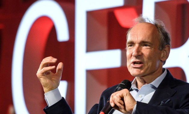 Tim Berners-Lee, above, says he is worried about how the internet is being used. (AFP)