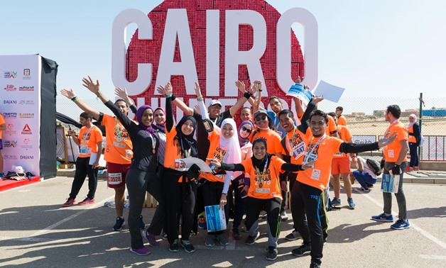 Cairo Runners at Cairo Festival City Mall, Feb 23, 2018 - Photo courtesy of Cairo Runners