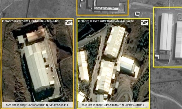 Satellite images oshows the construction of a missile site in Syria's Tartus Governorate
