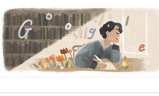 Gamila el-Alaily's Doodle on Google