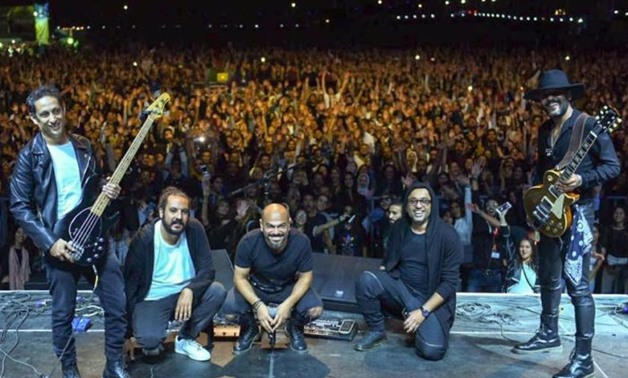 The famed Egyptian band Massar Egbari - Egypt Today.