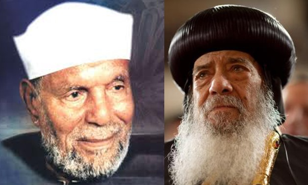 Coming Soon: Film to depict Pope Shenouda, Sheikh Shaarawy