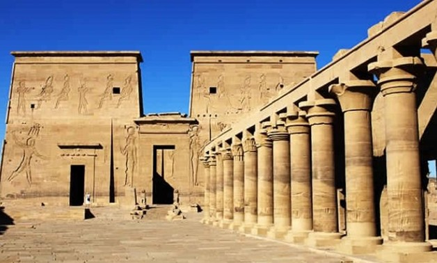 FILE - Kom Ombo Temple in Aswan.