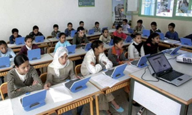 FILE: Students inside classrooms