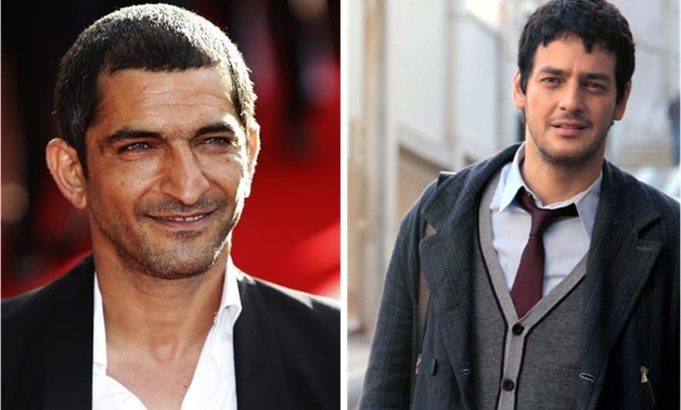 FILE - Amr Waked (L) courtesy of Reuters, and Khaled Abol Naga (R) courtesy of Film-Clinic