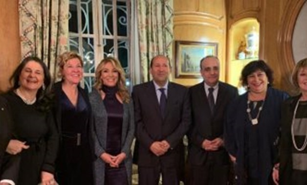 Egyptian Minister of Culture Inas Abdel Dayem met her Italian counterpart Alberto Bonisoli in Rome - Egypt Today.