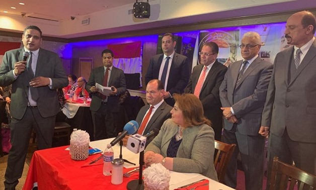 Journalists, politicians and professors gathered to announce support for the constitutional amendments – Egypt Today