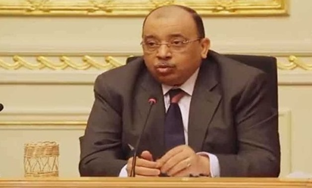 FILE: Local Development Minister Mahmoud Shaarawy