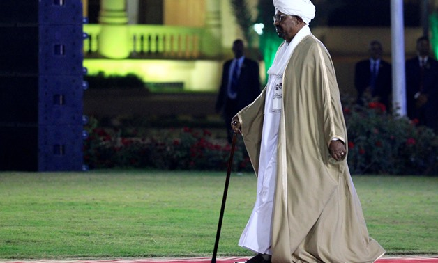FILE PHOTO: Sudan's President al-Bashir arrives on eve of 63rd Independence Day in Khartoum