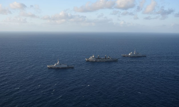 Egyptian-French naval drill conducted in Mediterranean sea
