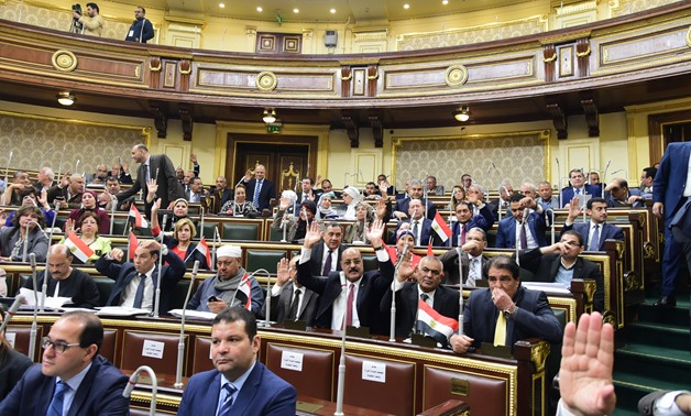 Parliament vote on constitutional amendments - photo by Khaled Mashaal