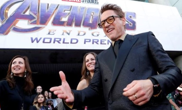 "FILE PHOTO: Cast member Robert Downey Jr., arrives on the red carpet at the world premiere of the film ""The Avengers: Endgame"" in Los Angeles, California, April 22, 2019. REUTERS/Mario Anzuoni/File Photo"